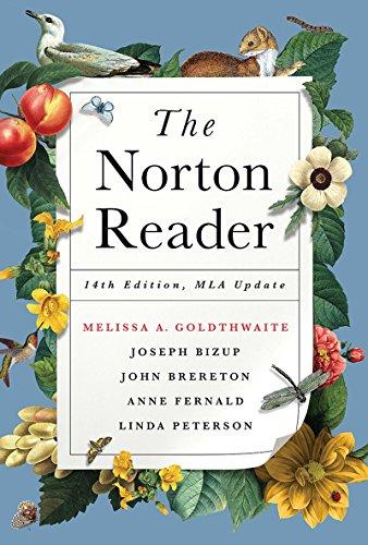 9780393617405: The Norton Reader: With 2016 MLA Update
