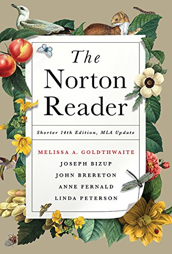 The Norton Reader: An Anthology of Nonfiction: Goldthwaite, Melissa (Editor)/