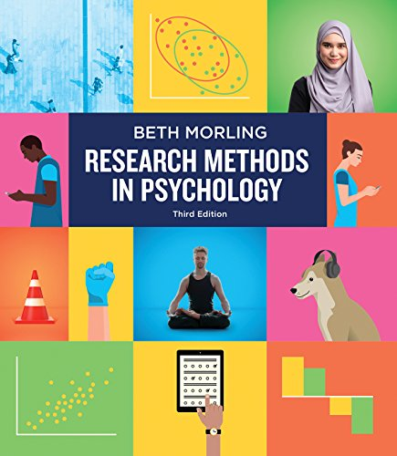 9780393617542: Research Methods in Psychology: Evaluating a World of Information (Third Edition)