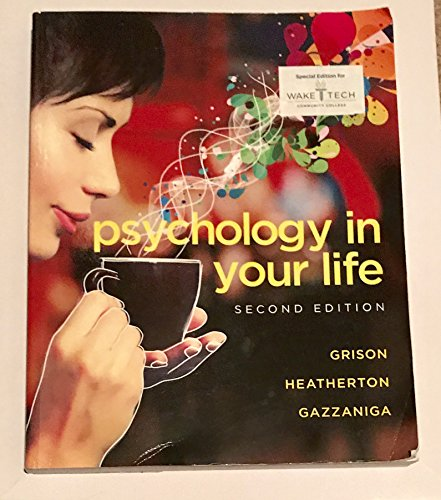 9780393621204: Psychology in your life