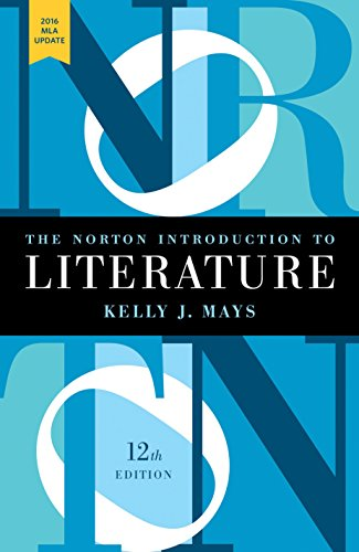 9780393623567: The Norton Introduction to Literature with 2016 MLA Update (Twelfth Edition)