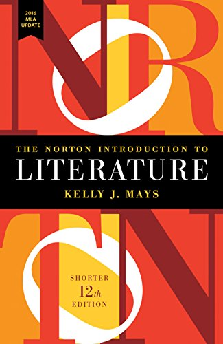 9780393623574: The Norton Introduction to Literature with 2016 MLA Update (Shorter Twelfth Edition)