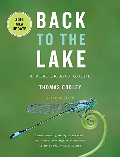 9780393624113: Back to the Lake: A Reader and Guide, with 2016 MLA Update (Third Edition)