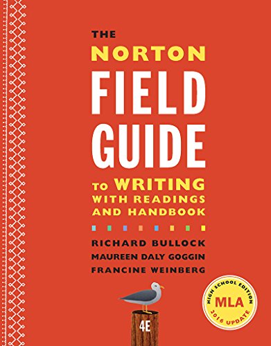 9780393639292: The Norton Field Guide to Writing With Readings and Handbook: High School Edition, Mla 2016 Update