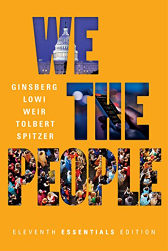 9780393639988 We The People Essentials Eleventh Edition