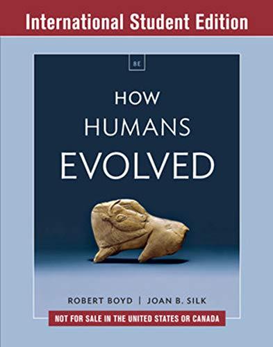 9780393655483: How Humans Evol 8E ISE Pa W/Ei