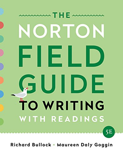 9780393655780: The Norton Field Guide to Writing: with Readings