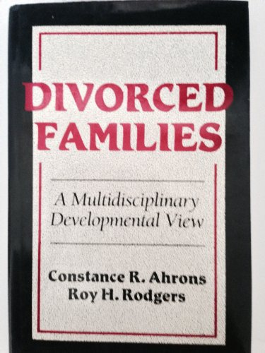 9780393700305: Divorced Families: A Multidisciplinary Developmental View