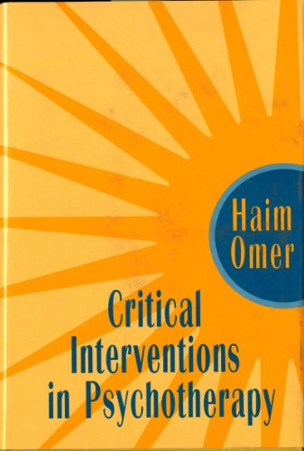 9780393701821: Critical Interventions in Psychotherapy: From Impasse to Turning Point