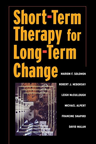 9780393703337: Short-term Therapy for Long-Term Change (Norton Professional Books)