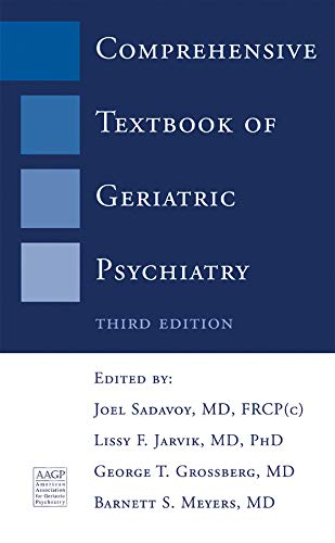 9780393704266: Comprehensive Textbook of Geriatric Psychiatry (Third Edition) (Norton Professional Books)