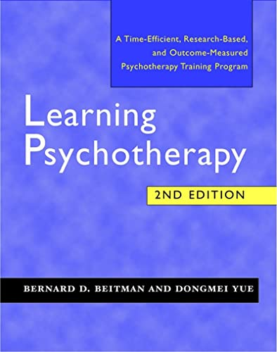 9780393704464: Learning Psychotherapy: A Time-Efficient, Research-Based, and Outcome-Measured Training Program