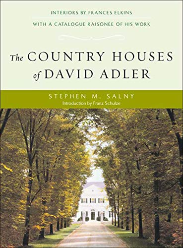 9780393730456: The Country Houses of David Adler