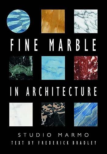 9780393730746: Fine Marble in Architecture