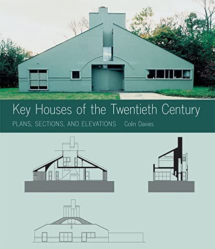 9780393732054: Key Houses of the Twentieth Century: Plans, Sections and Elevations (Key Architecture Series)
