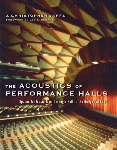 9780393732559: The Acoustics of Performance Halls: Spaces For Music From Carnegie Hall To The Hollywood Bowl