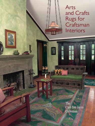 9780393733204: Arts and Crafts Rugs for Craftsman Interiors: The Crab Tree Farm Collection