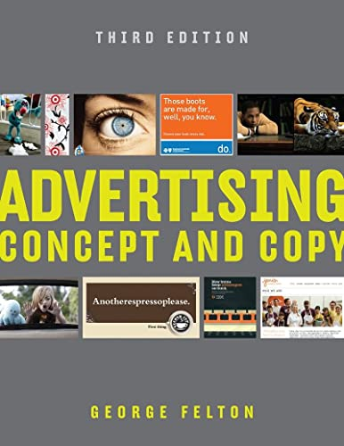 9780393733860: Advertising - Concept and Copy 3e