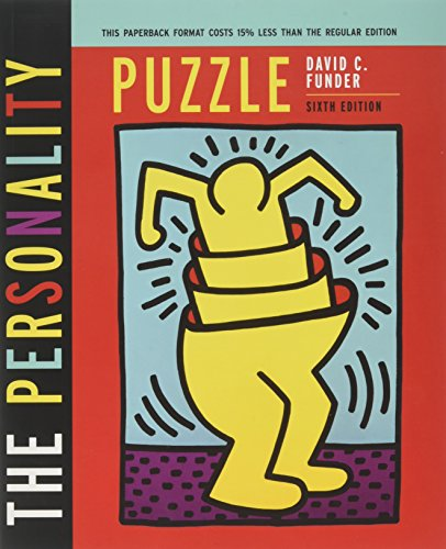 9780393901221: Personality Puzzle - With Pieces of Person..