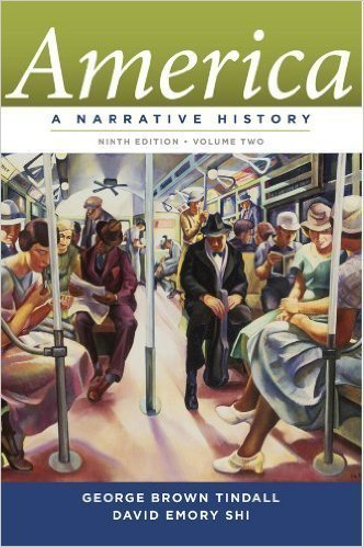 9780393901900: America, A Narrative History Ninth Edition* Volume Two