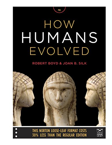 9780393906141: How Humans Evolved (Norton Loose-Leaf)