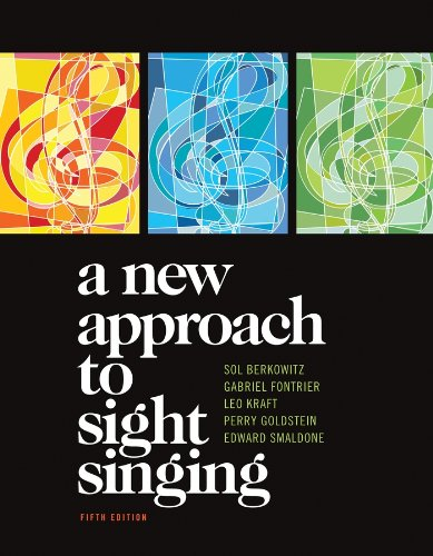9780393911503: A New Approach to Sight Singing (Fifth Edition)