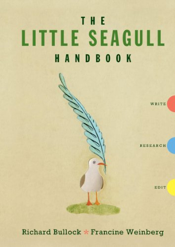 9780393911510: The Little Seagull Handbook: Write, Research, Edit