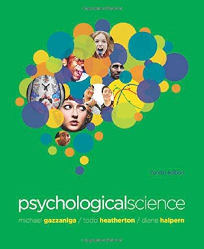 9780393911572: Psychological Science