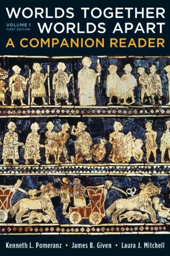 9780393911602: Worlds Together, Worlds Apart: A Companion Reader (Vol. 1)