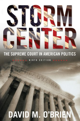 9780393911961: Storm Center: The Supreme Court in American Politics (Ninth Edition)