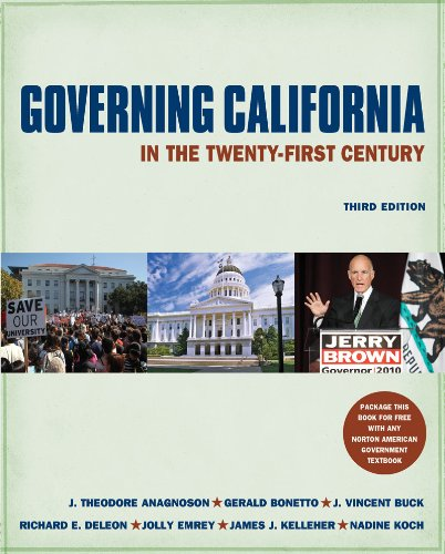 9780393912029: Governing California in the Twenty-First Century (Third Edition)