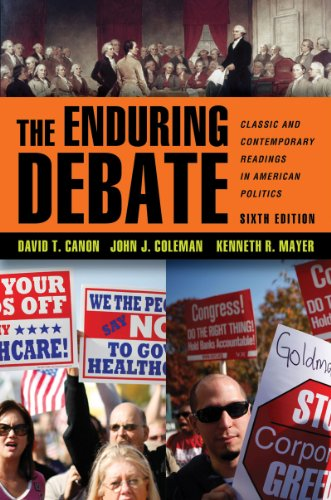 9780393912050: The Enduring Debate: Classic and Contemporary Readings in American Politics (Sixth Edition)