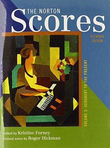 9780393912128: The Norton Scores: A Study Anthology (Eleventh Edition) (Vol. 2)