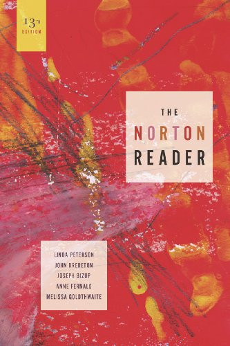 The Norton Reader: An Anthology of Nonfiction: Peterson, Linda [Editor];