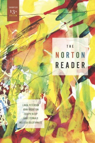 The Norton Reader – An Anthology of: Peterson, Linda H.