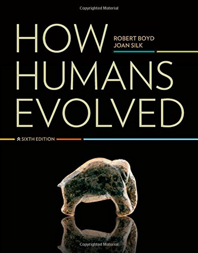 9780393912272: How Humans Evolved (Sixth Edition)