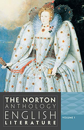 9780393912470: The Norton Anthology of English Literature (Ninth Edition)  (Vol. 1)