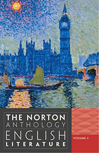 The Norton Anthology of English Literature (Ninth: Abrams, M. H.