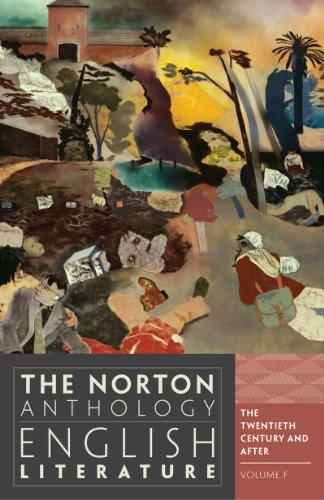 The Norton Anthology of English Literature (Ninth: Stephen Greenblatt