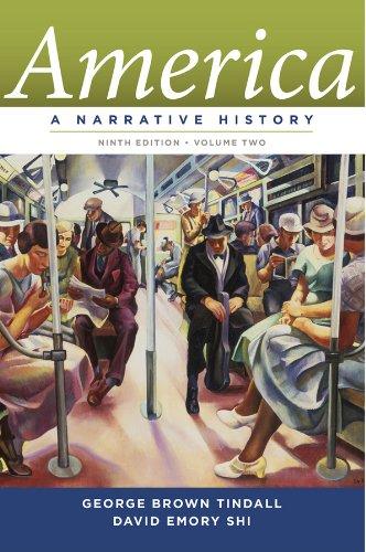 9780393912647: America: A Narrative History (Ninth Edition) (Vol. 2)