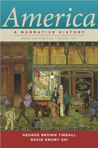 9780393912678: America: A Narrative History (Brief Ninth Edition)  (Vol. 2)