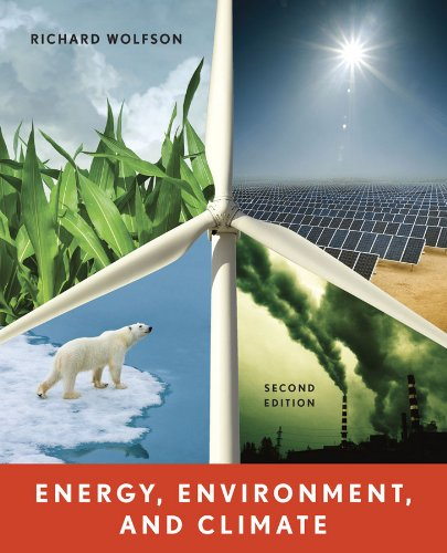 9780393912746: Energy, Environment, and Climate (Second Edition)