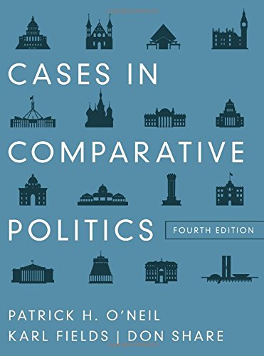 case studies in comparative politics Get this from a library case studies in comparative politics [david samuels] -- debuting in its first edition and written by a new generation of area studies.