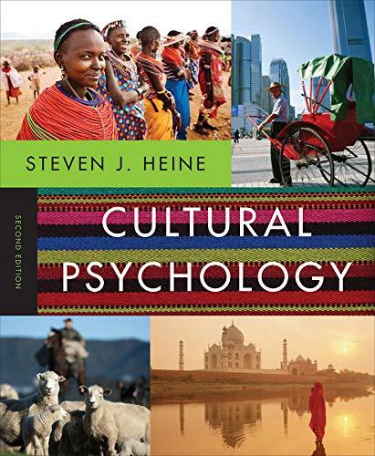 9780393912838: Cultural Psychology