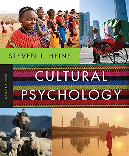 9780393912838: Cultural Psychology (Second Edition)