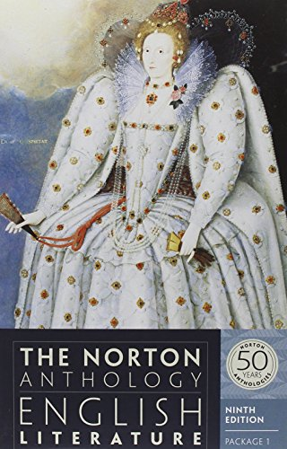 The Norton Anthology of English Literature (Ninth: Abrams, M. H.
