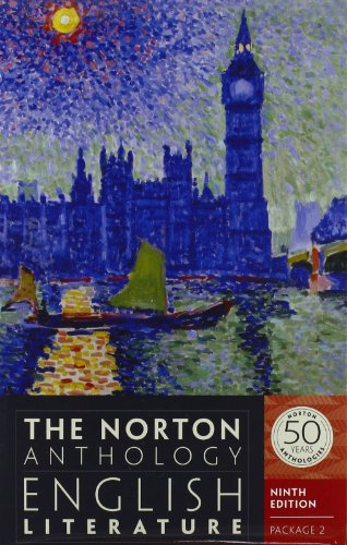 9780393913019: The Norton Anthology of English Literature (Ninth Edition) (Vol. Package 2: Volumes D, E, F)