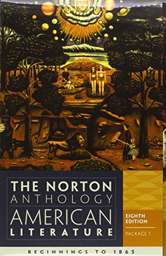 9780393913095: The Norton Anthology of American Literature: Volumes a and B