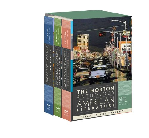 9780393913101: The Norton Anthology of American Literature (Eighth Edition) (Vol. Package 2: Volumes C, D, E)