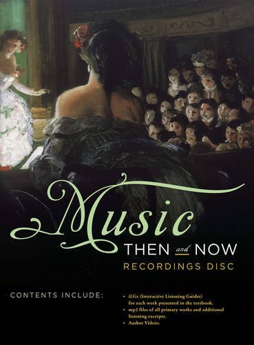9780393913170: Recordings Disc: for Music Then and Now